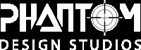 Phantom-Design Studios Logo vWhite